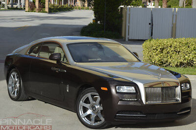 2014 Rolls-Royce Wraith Loaded! $353K MSRP! Rare Options! 2014 Rolls Royce Wraith! Loaded! $38K Wraith Package! 7K Miles! $353,855 MSRP!