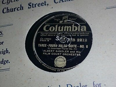 """Collection of 12x VARIOUS 10"""" 78RPM Gramophone Records Male Light Classic etc"""