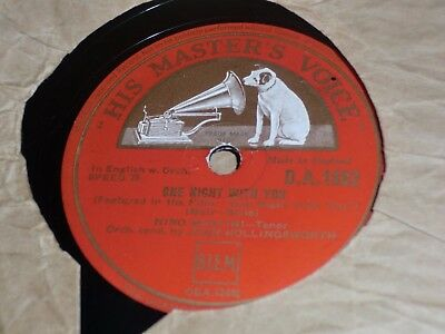 """Collection of 11x VARIOUS 10"""" 78RPM Gramophone Records Various Male etc"""