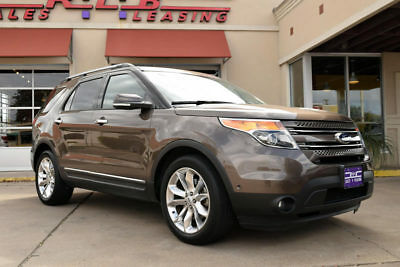 2015 Ford Explorer Limited Sport Utility 4-Door 2015 Ford Explorer Limited, Leather, Panorama Moonroof!