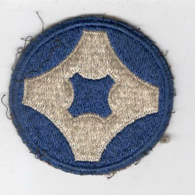 WW 2 US Army 4th Service Command Patch Inv# Y508