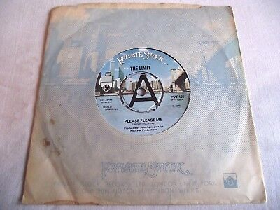 THE LIMIT ~ PLEASE PLEASE ME ** 1978 PRIVATE STOCK 45 MINT- Looks unplayed.