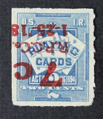 CKStamps: US Revenue Playing Cards Stamps Collection Scott#RF10a Unused NG