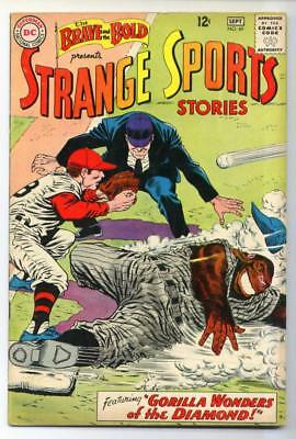 Brave & the Bold #49 (Strange Sports Stories) Silver Age-DC FN+  {50% OFF}