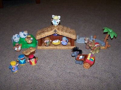 Adorable Fisher Price Little People Nativity Set wo/Box VGC!