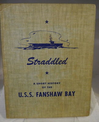 Navy Cruise book for the U.S.S. Fanshaw Bay-1946-combat photos-Kamikazes