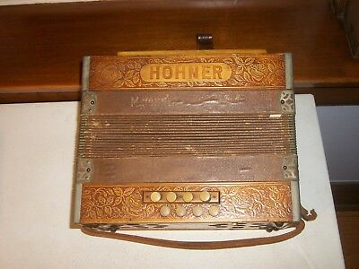 Vintage Hohner Accordion  As Is