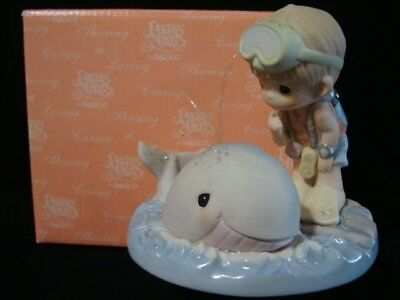 Precious Moments-RARE Endangered Species-Whale LE7500-Stay With Me A-Whale