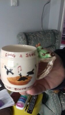 Clarice Cliff Inspired Whistling Mug-Kevin Shorter & Son-Rare-Collectable