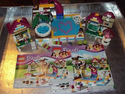 Lego Friends Set 41008 Heartlake City Pool Complete With