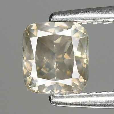 1.02 Cts FANCY RARE SPARKLING YELLOWISH GREY NATURAL LOOSE DIAMONDS- SI1