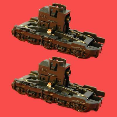 SD70M Revised, SD70ACe HTCR Phase 2 Truck, Black (Revised)  KATO 929321R N SCALE