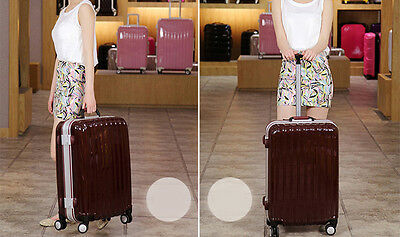 """28"""" Brown ABS+PC Universal Wheel Password Travel Suitcase / Trolley luggage."""