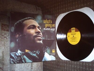Marvin Gaye. What's Going On LP. Tamla TS 310. 1971. Exc.
