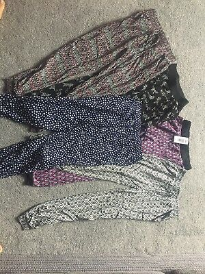 Girls Baggy Trousers Age 10-11