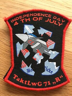 "TaktLwG 71 ""Richthofen"" Independence Day Patch"