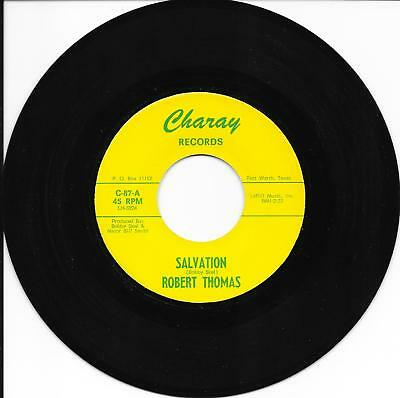 Robert Thomas Salvation Soul Of A Man Charay Northern Soul Motown Original Label