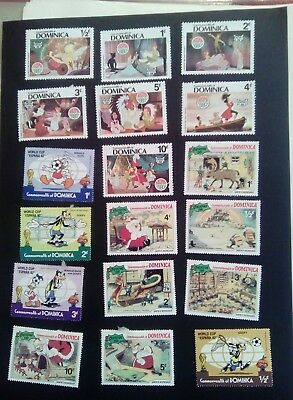 Stamps Used Mm Dominica Disney