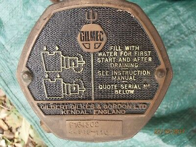 Old Vintage Gilmec Water Pump Unused Very Heavy Farm Agricultural Tractor Use?