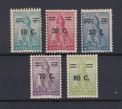 Portugal - Angola Ceres Nice Complete Set MH 15