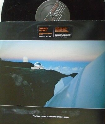 "CONTROL FREAKS ~ Subspace Interference ~ 12"" Single PS"