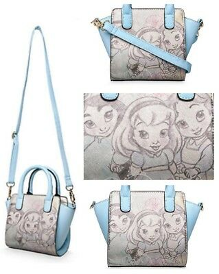 Girls Disney Princess Bag Disney Animators Collection belle jasmine Cinderella