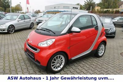 Smart smart fortwo coupe softouch passion Klima P-Dach