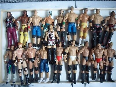 Wrestling spares and repairs figure lot / bundle 1 - Mattel - wwe wwf