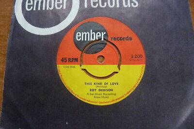 Roy Orbison - This Kind Of Love 1964 UK 45 EMBER 1950s SUN ROCK 'N' ROLL
