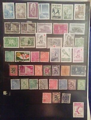 Stamps Used Mm Finland A