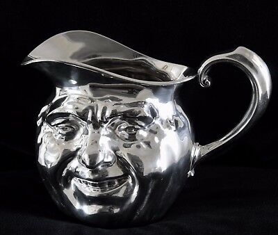 Reed & Barton Sunny Jim 5640 Silver Plate Water Pitcher 4PT Barware Rare