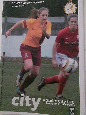 Bradford City Women v Stoke City Ladies 2013/14