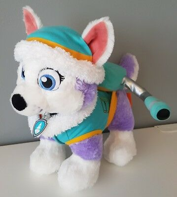 Build a Bear EVEREST Paw Patrol Limited Edition Sound and Accessories Soft Plush