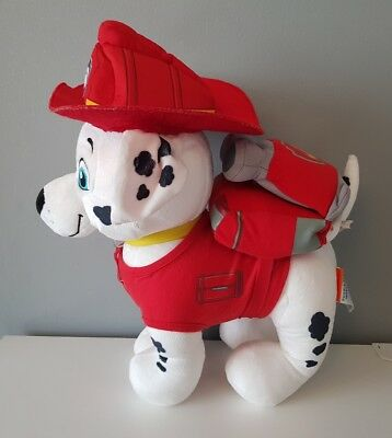 Build a Bear MARSHALL Paw Patrol and All Accessories soft toy plush