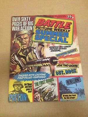 Battle Picture Weekly Holiday Special 1978 Mint Best Copy I have Ever Seen