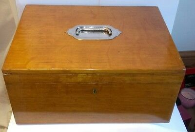 Antique Fishing Salmon Fly Reservoir Box By Farlow & Co The Strand London