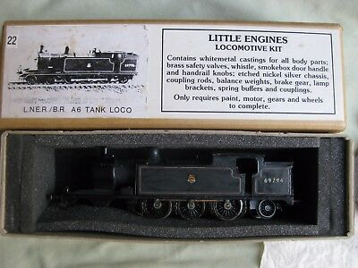 00 Little Engines Kit Part built LNER A6 Tank Locomotive BOX completionor spares