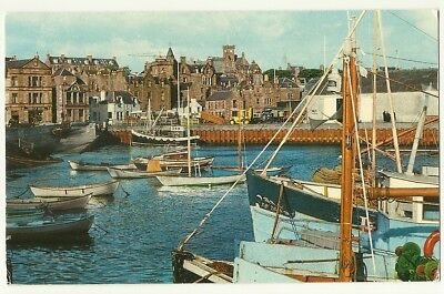 Shetland - a photographic postcard of Lerwick Harbour