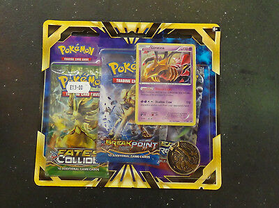 Pokemon Cards XY Giratina XY184 Promo 3-Booster Blister Pack SEALED NEW
