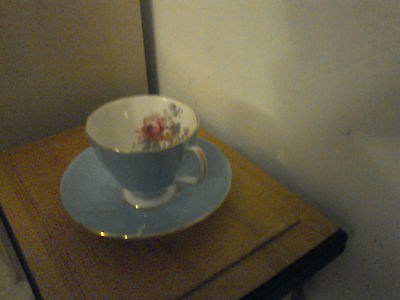 Adderley Floral Coffee Cup & Saucer