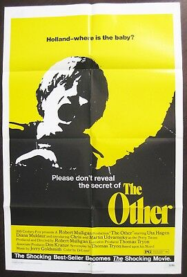 The Other 1972 Thomas Tryon Original US One Sheet Poster