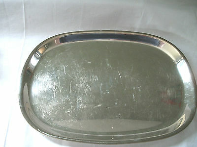 """Wm Rogers I/S silver Paur Revere reproductions   12 1/2"""" tray #33712"""