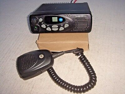 TAIT T-S8107 VHF 10 CHANNEL 136-174MHz  c/w MICROPHONE & DC TAIL (TM8110)