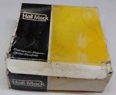 Vintage Hall Mack Bathroom Fixtures Soap Dispenser and Grab - NEW IN BOX! RARE