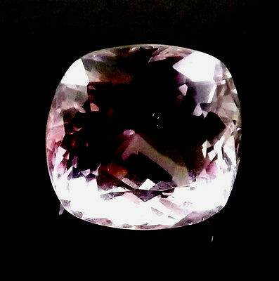 32 cts Natural Earth Mined Vsi1 Qlty Pinkish Purple Amethyst Gemstone #epa116