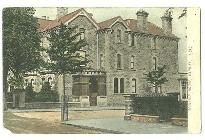 Cardiff - a colour printed postcard of Mansion House