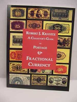 Kravitz softbound Fractional Currency,1st edtion,signed
