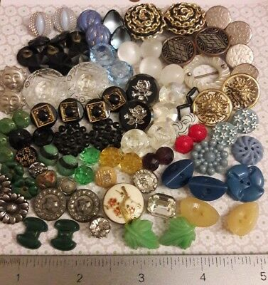 Vintage Mix Buttons **LOOK**!!