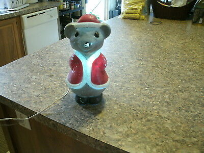 Union Products Blow Mold Christmas Mouse
