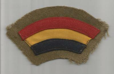"""WW 1 US Army 42nd Division 2-1/4"""" X 2-1/4"""" Patch Inv# A500"""